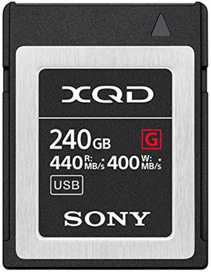 QD-G240F 240 GB XQD Card G