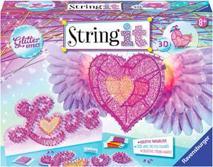 String it 3D heart