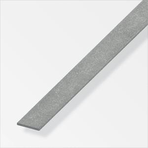 Flachstange 2 x 25 mm Stahl gezogen 1 m