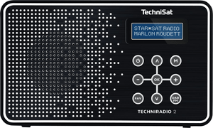 TechniRadio 2 - Schwarz/Weiss
