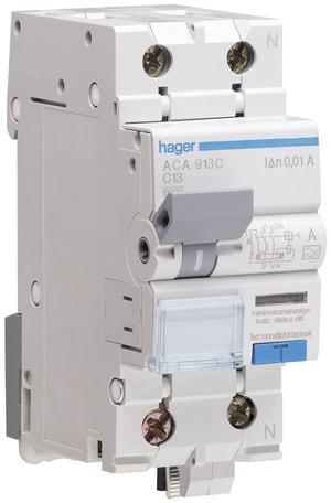 Disjoncteur automatique différentiel 16A