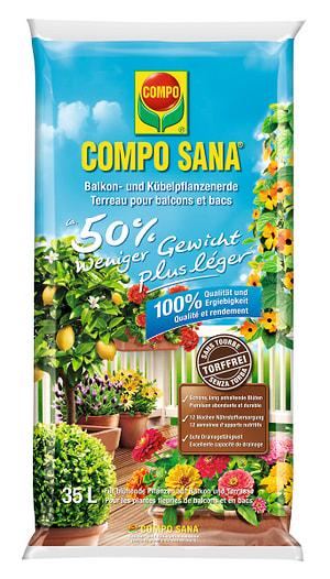 Die Leichte Balkon- und Kübelpflanzen torffrei, 35 l
