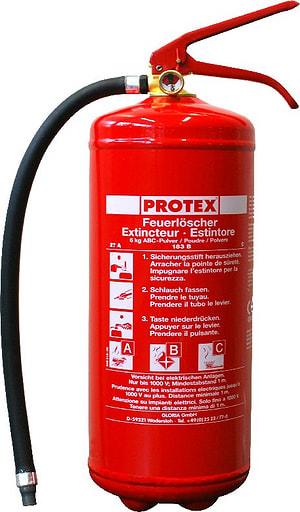 Pulver-Feuerlöscher PROTEX