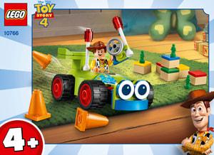 LEGO JUNIORS 10766 Woody et RC