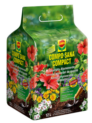 Compact Qualitäts-Blumenerde, 12 l