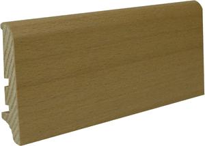 Echtholzsockelleiste Buche furniert Nr. 2