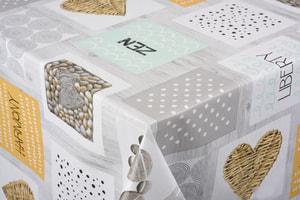 Couverture de table Zenitude 140 x 160 cm