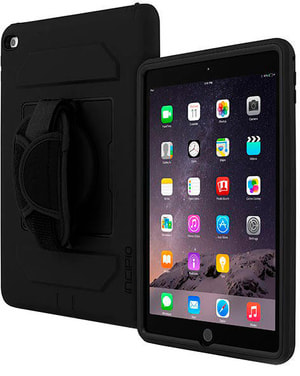 Capture Rugged Case with Handstrap for Apple iPad Air 2 black