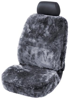 Coprisedili anteriori in pelle di agnello antracite