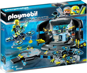 Playmobil Top Agents Dr. Drone's Command Center 9250