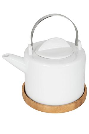 Teekanne mit Untersetzer 1.2L