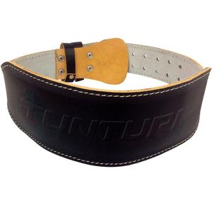 Cintura di sollevamento pesi in pelle 120cm