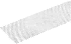 Lamiera stirata  1.2 x 120 mm acciaio grezzo 1 m