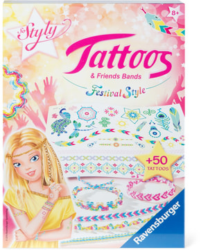 Tattoos & Friendsbands - Festival Style