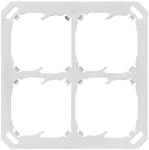 Montageplatte 4-fach