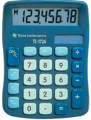 Calculatrice TI-1726 8-chiffres