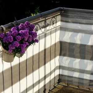Balkonbespannung 500 x 90 cm
