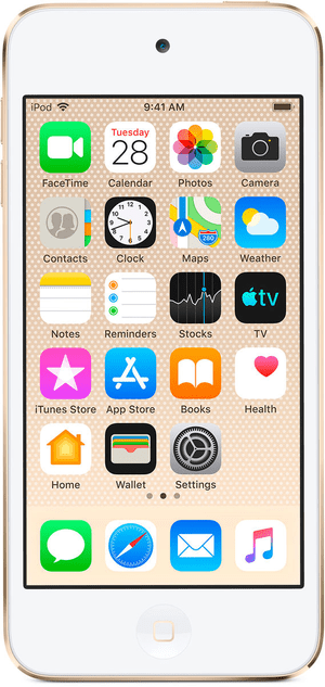 iPod touch 7th Gen 256GB - Gold