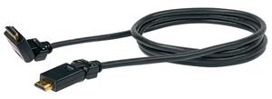 Kabel HDMI schwenkbar 1.5m schwarz