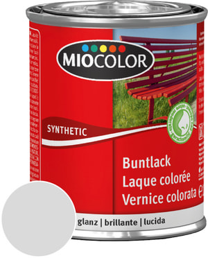 Synthetic Vernice colorata lucida Grigio chiaro 375 ml