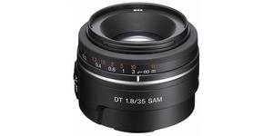 DT 35mm F1.8 SAM Portrait (SAL-35F18) Objectif de type A pour appareils photo numériques