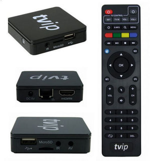 Mediaplayer / IPTV Player S-Box V.410 IPTV