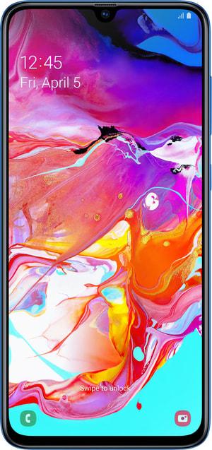Galaxy A70 bleu