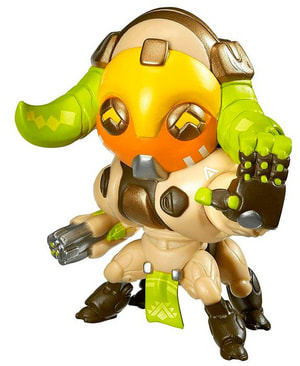 Overwatch: Cute But Deadly Orisa Figure