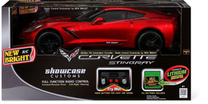 W14 NEW BRIGHT RC - 1:8 CORVETTE