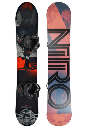 NITRO BLACKLIGHT INKL. ZERO BLACK 15/16