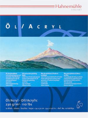 Hahnemühle Öl-&Acrylmalblock