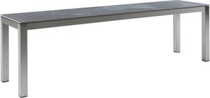 LOCARNO, struttura acciaio inox, piano Ceramica