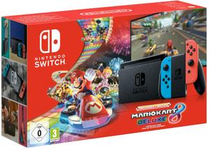 Switch Neon V2 2019 incl. Mario Kart 8 Deluxe DLC