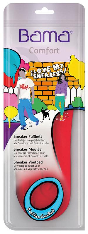 Sneaker Fussbett