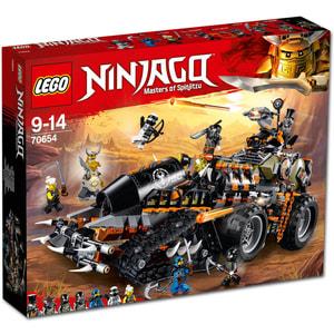 Lego Ninjago Le véhicule de combat Dieselnaut 70654