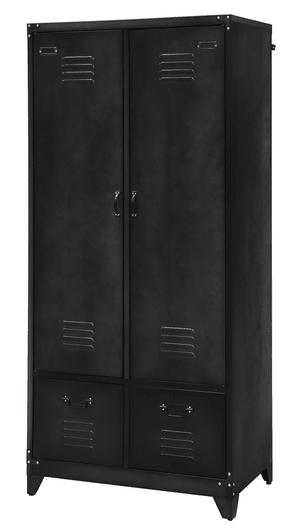 Armadietto metallico 2 porte/2 cassetti RMS9941B