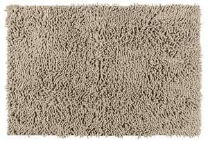Tapis de bain Chenille sable, 100% polyester