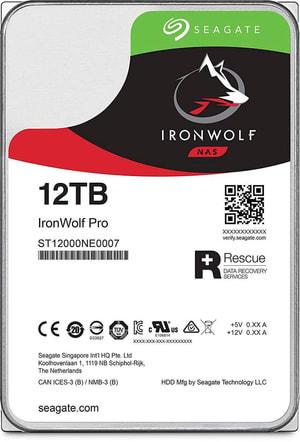 """IronWolf Pro SATA 3.5"""" 12 TB"""