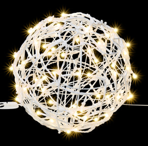 LED Connect Metal ball, Ø 20 cm