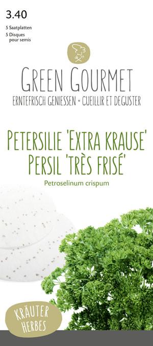Prezzemolo 'Extra Krause' 5 seme piatto