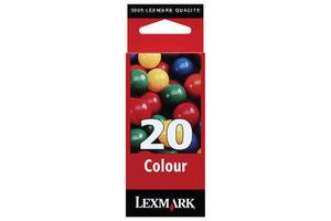 15MX120E cartouche d'encre nr. 20 color