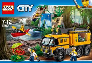 Lego City Mobiles Dschungel-Labor 60160