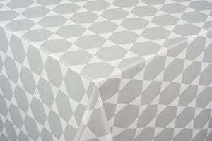 Couverture de table  Caline gris 140 x 140 cm