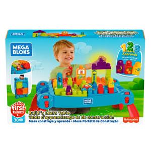 Mega Bloks Bau- und Spieltisch (30 Teile)