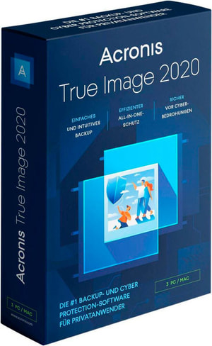 Acronis True Image Standard 2020 Vollversion (ESD)