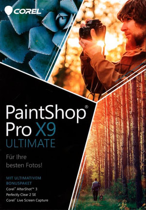 PC- PaintShop X9 Ultimate (D)