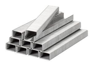 Klammern, Feindraht, Stahl, 11,4 mm x 8 mm