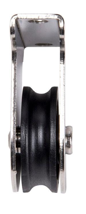Blockrolle rostfrei für Seile 8mm