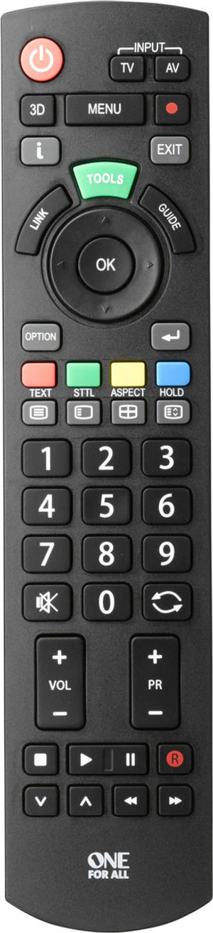 URC1914  Panasonic TV Ersatzfernbedienung