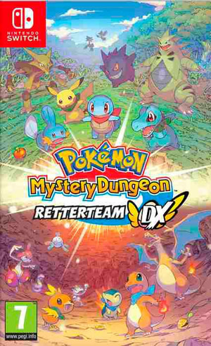 NSW - Pokémon Mystery Dungeon: Retterteam DX